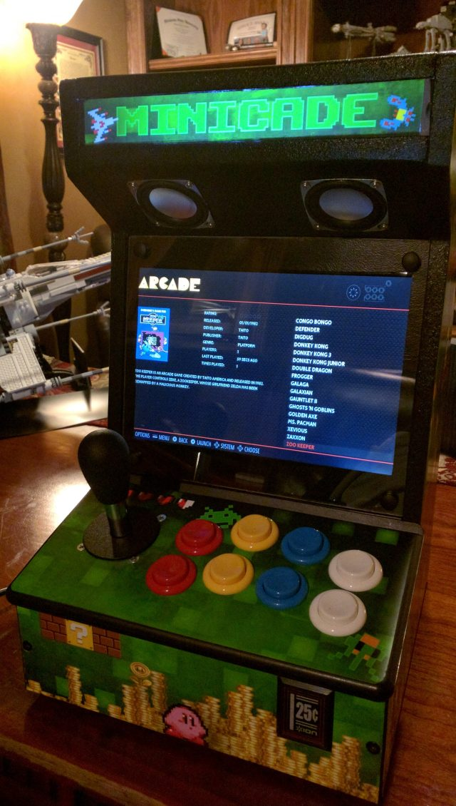 RetroPie Raspberry Pi Minicade (UPDATE 2)
