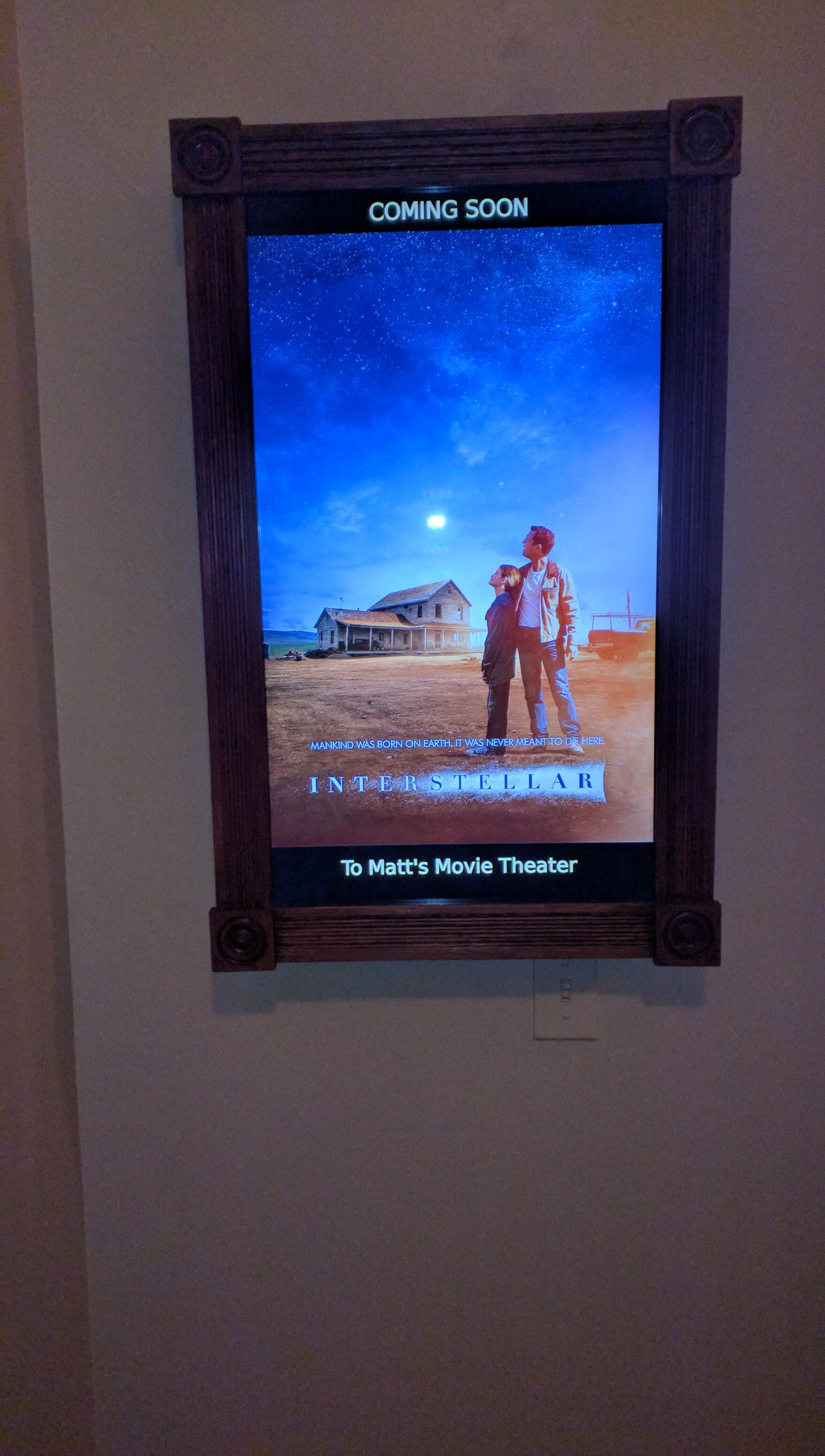 Plex Movie Poster Display Version 1 - Matt's Shack